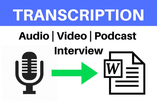 audio-or-video-transcription